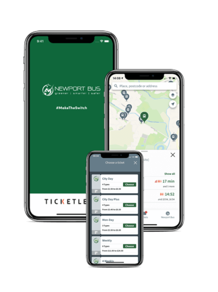 Mobile Ticketing Newport