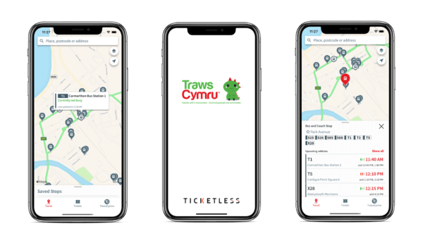 Transport for Wales, Welsh Government, Transport app